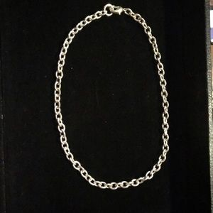 Sterling Silver Tiffany Style Necklace Chain